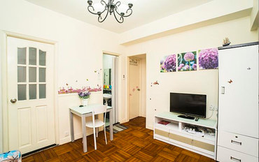 香港酒店公寓住宿:爱琴海A公寓 旺角地铁口2房1厅可住6人