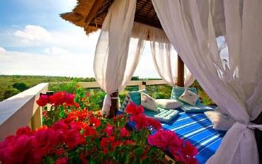 巴厘岛酒店公寓住宿:两室别墅,顶层超赞景色