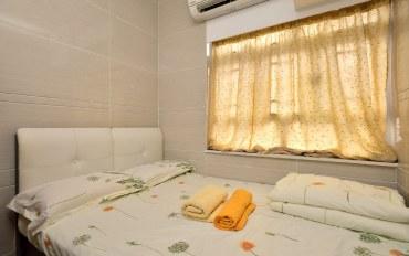 香港酒店公寓住宿:香港旺角带冰箱4人经济房