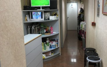 香港酒店公寓住宿:香港宝华可简单煮食子母房