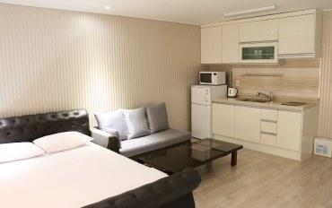 韩国酒店公寓住宿:近机场汽车站的依林度假屋(一居)