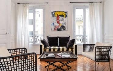 巴黎酒店公寓住宿:艾菲尔铁塔古典艺术公寓