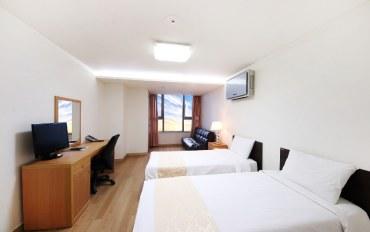 韩国酒店公寓住宿:标准双人公寓,带厨房