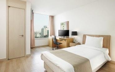 韩国酒店公寓住宿:单人公寓,带厨房