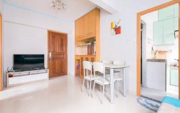 香港酒店公寓住宿:香港旺角蔚蓝港湾旅游小屋两房一厅