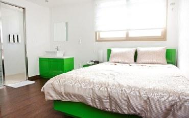 釜山酒店公寓住宿:标准典雅大床房公寓