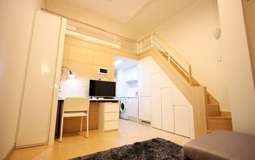 韩国酒店公寓住宿:江南甜蜜城堡