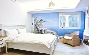 台北酒店公寓住宿:一分钟到西门町 疯阁二馆 精致双人房