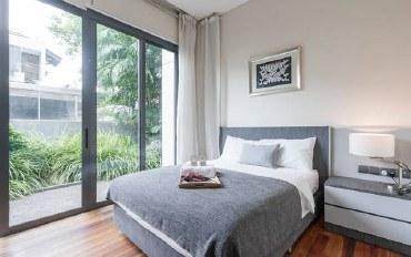 新加坡酒店公寓住宿:景万岸地铁站3号泳池别墅01套房
