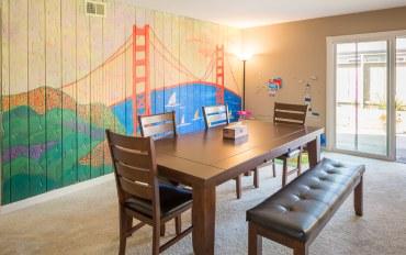 旧金山酒店公寓住宿:旧金山湾阳光典雅别墅距硅谷20分钟