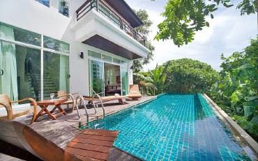 普吉岛酒店公寓住宿:日式三卧室泳池别墅