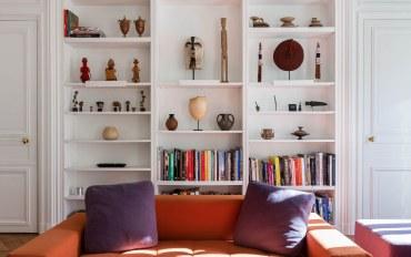 巴黎酒店公寓住宿:巴黎香街一卧一浴温馨典雅公寓