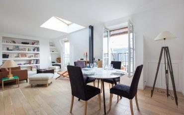 巴黎酒店公寓住宿:巴黎凯旋门一卧一浴时尚现代公寓