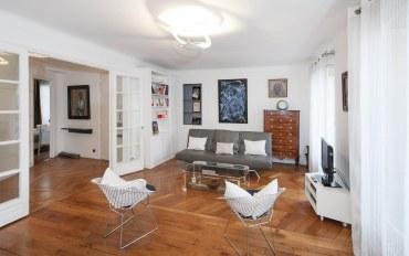 巴黎酒店公寓住宿:巴黎贵族街区一卧一浴精品公寓