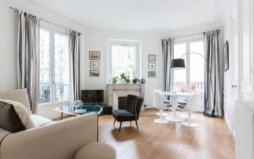 巴黎酒店公寓住宿:巴黎蒙索公园一卧一浴温馨古典公寓