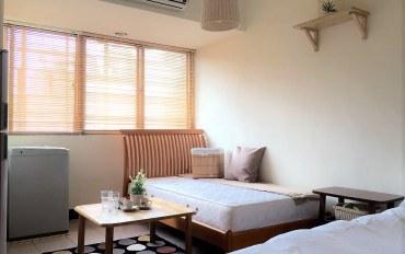 台北酒店公寓住宿:台北车站正对面 日式MUJI风二人房
