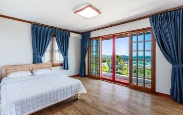韩国酒店公寓住宿:天空团体家庭房
