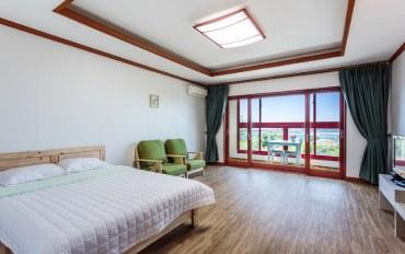 济州岛酒店公寓住宿:温馨床房#B