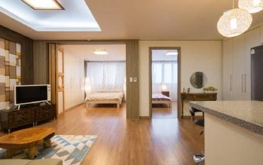 韩国酒店公寓住宿:临近明洞的两居室