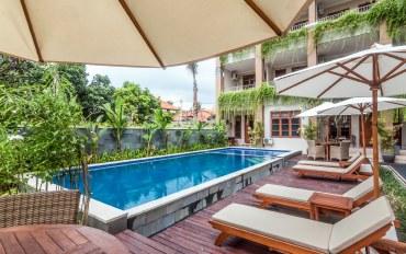 巴厘岛酒店公寓住宿:库塔库布安雅 标准度假屋