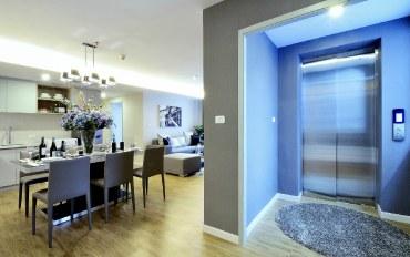 曼谷酒店公寓住宿:私人电梯套房