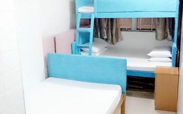香港酒店公寓住宿:旺角地铁旁:标准五人房