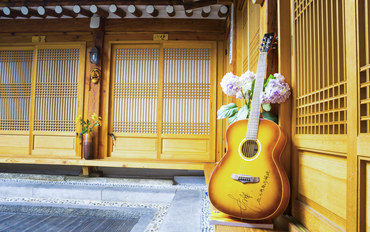 韩国酒店公寓住宿:仁寺洞传统单人韩屋民宿