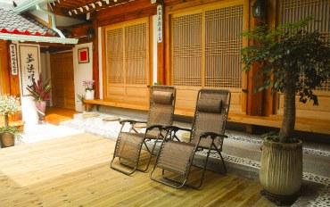 韩国酒店公寓住宿:仁寺洞传家庭式多人韩屋