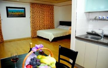 济州岛酒店公寓住宿:23平温馨家庭房