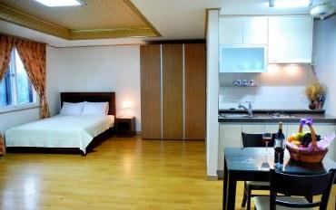 济州岛酒店公寓住宿:24平优雅家庭房