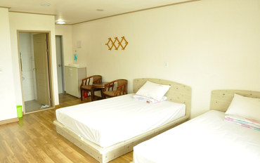 济州岛酒店公寓住宿:近济州观光地的四人公寓