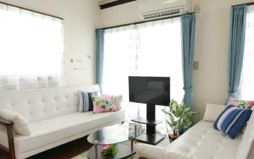 冲绳酒店公寓住宿:SERI冲绳西部海岸浪漫1号公寓