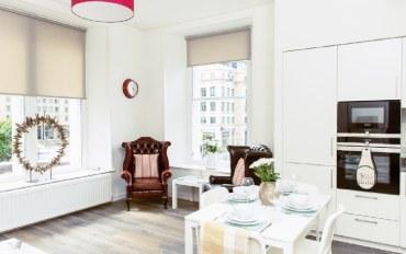 爱丁堡酒店公寓住宿:时尚两室公寓-5分钟到王子街