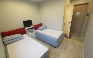 釜山酒店公寓住宿:海云台附近的别致双床房A