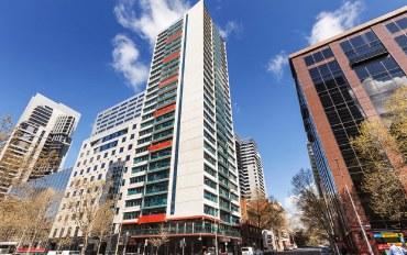 墨尔本酒店公寓住宿:墨尔本CBD精品公寓
