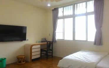 台东酒店公寓住宿:木头人民宿203四人房