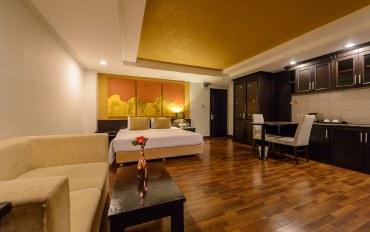 曼谷酒店公寓住宿:奢华双人房 沙吞古迹公寓