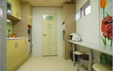 首尔酒店公寓住宿:近江南的单人房