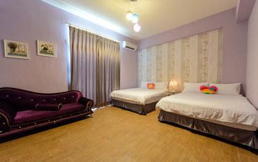 台东酒店公寓住宿:台东拉芬朵儿今生相携四人套房