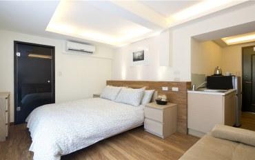 台北酒店公寓住宿:近中山小学站林森LOFT旗舰二人房