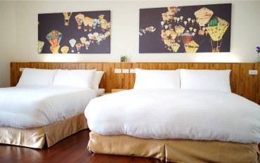 台东酒店公寓住宿:台东爱来客201热气球四人套房