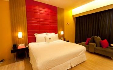新竹酒店公寓住宿:地中海风蒸气PC二人房
