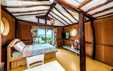 济州岛酒店公寓住宿:济州Attlantic温馨大床房