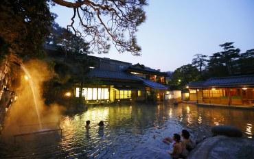 岛根酒店公寓住宿:玉造温泉 汤之助之宿 长乐园 附露天浴池