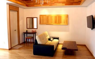 济州岛酒店公寓住宿:近挟才海水浴场的雅致二人房