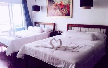 曼谷酒店公寓住宿:家庭别墅四人双大床家庭房