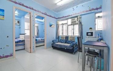 香港酒店公寓住宿:爱琴海B公寓旺角柏拉图2房1厅可住6人