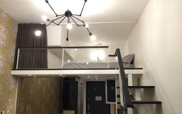 台北酒店公寓住宿:捷运5分钟 西门挑高阁楼