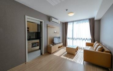 曼谷酒店公寓住宿:金诗丽吉王后站2卧公寓#S22可住3人