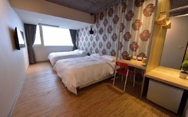 台北酒店公寓住宿:明亮舒适风 SOGO百货正旁边 #609